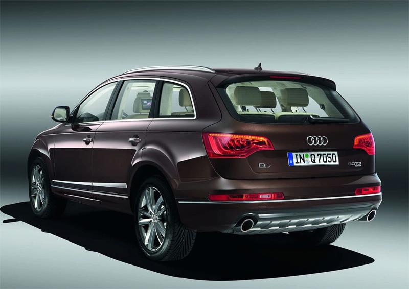 Audi Q7 2010 Potężniejsza Bardziej Ekologiczna Niż